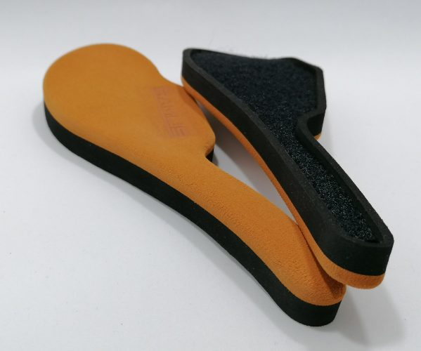 orange flat pads